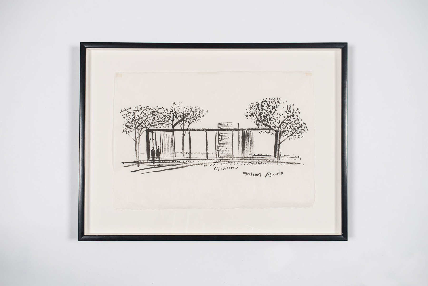 Tadao Ando |   Drawing - 'Glass House'