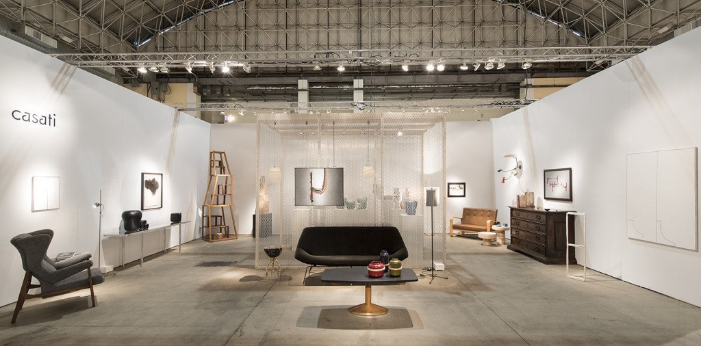 Casati Gallery's booth at EXPO CHICAGO 2017