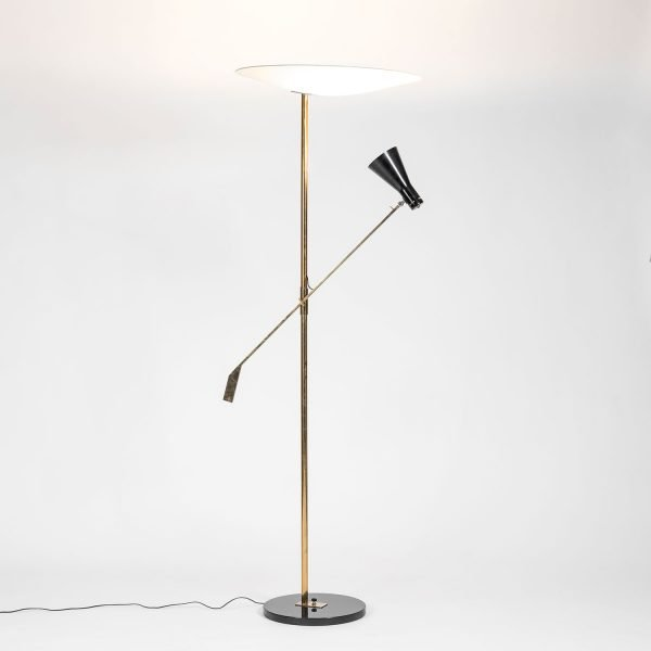 Gino Sarfatti |  Floor lamp model 1050/1