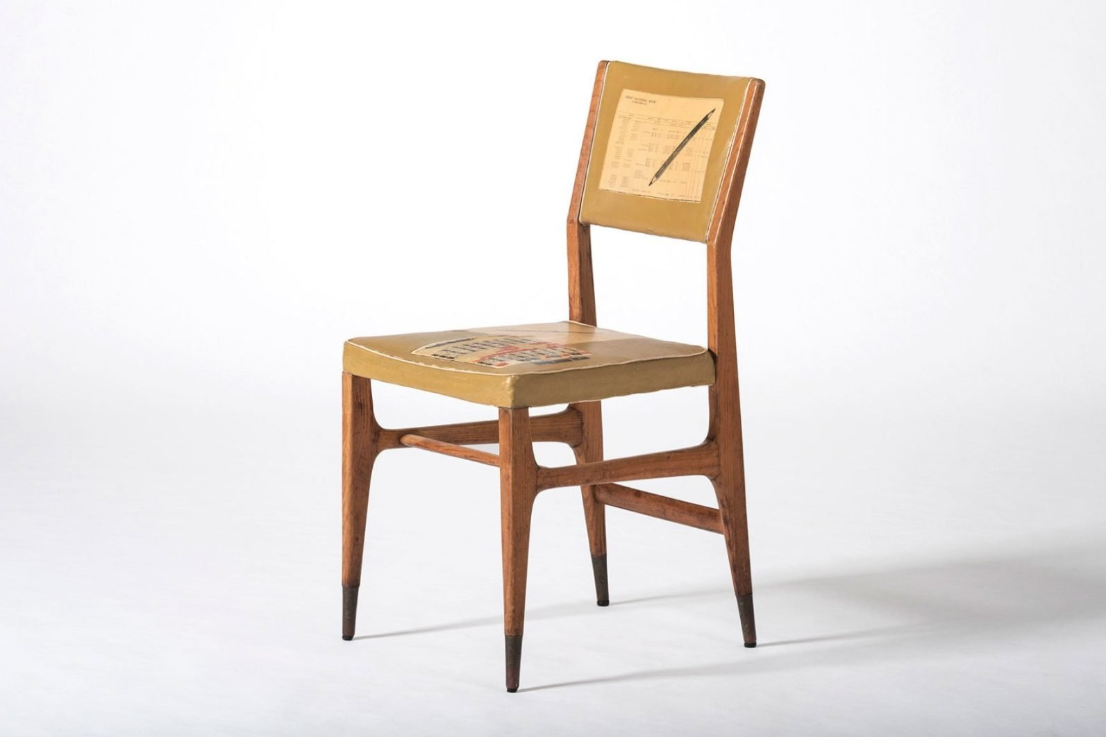 Gio Ponti |  Rare chair for the Vembi-Burroughs offices and training center