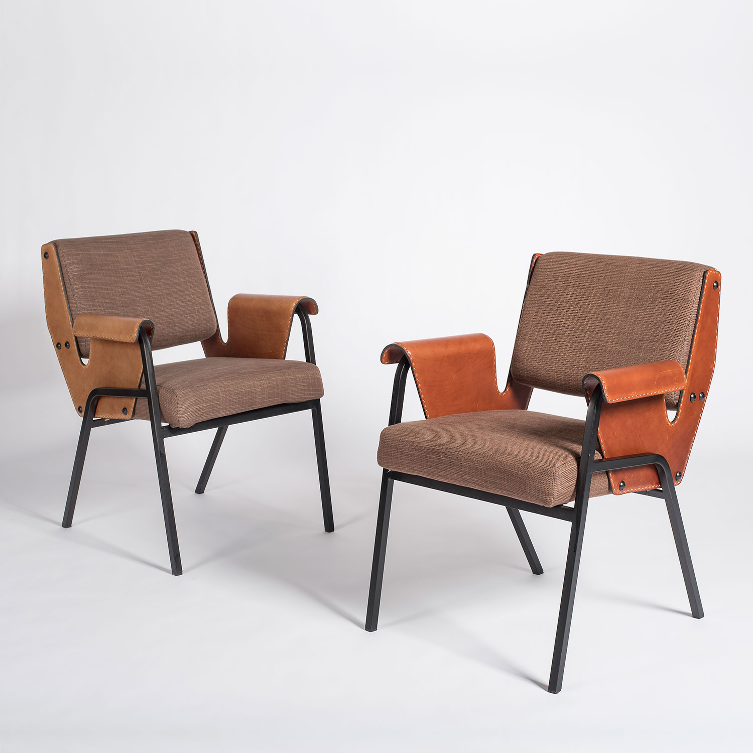 Gustavo Pulitzer |                                  Two Albenga armchairs