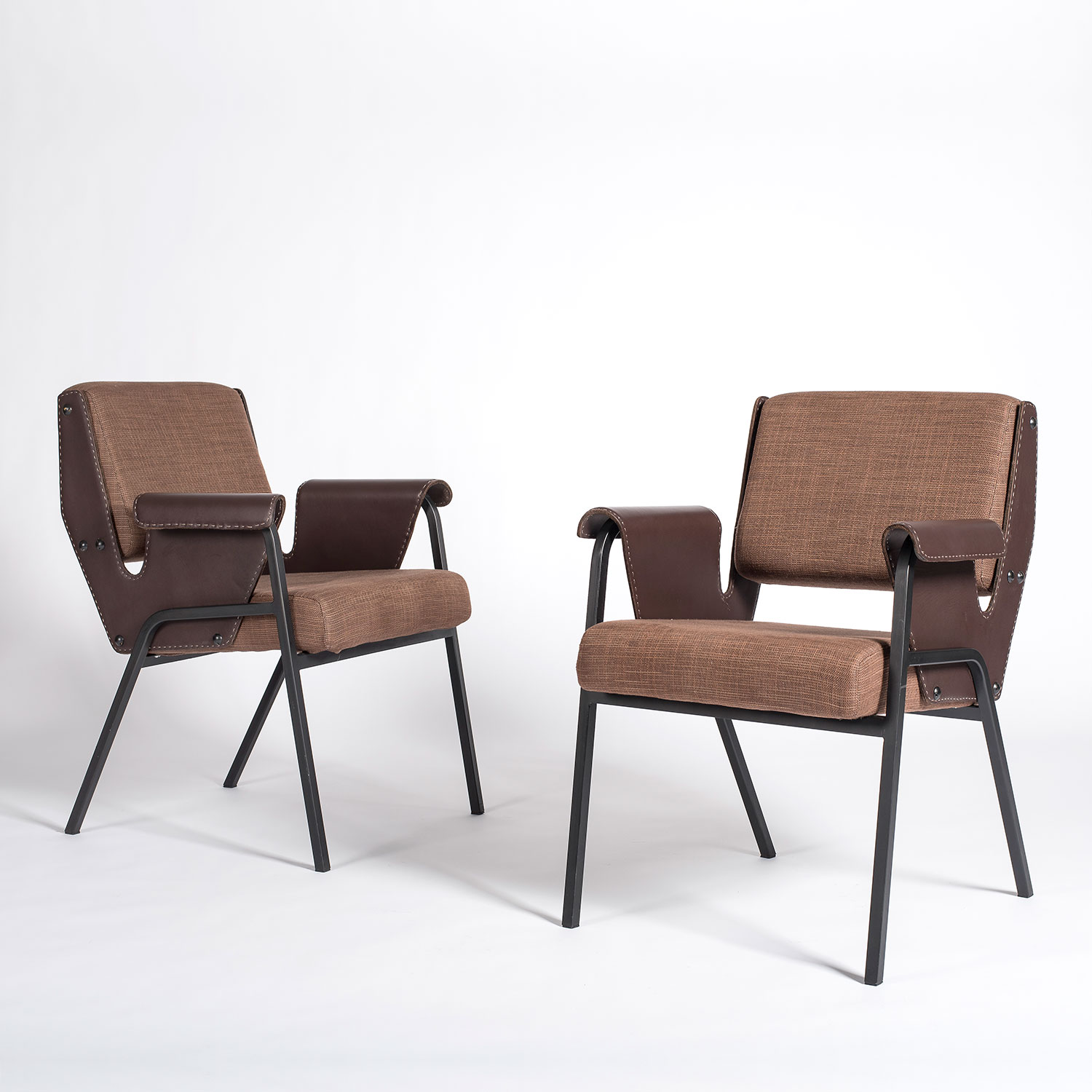 Gustavo Pulitzer |                                  Pair of Albenga armchairs