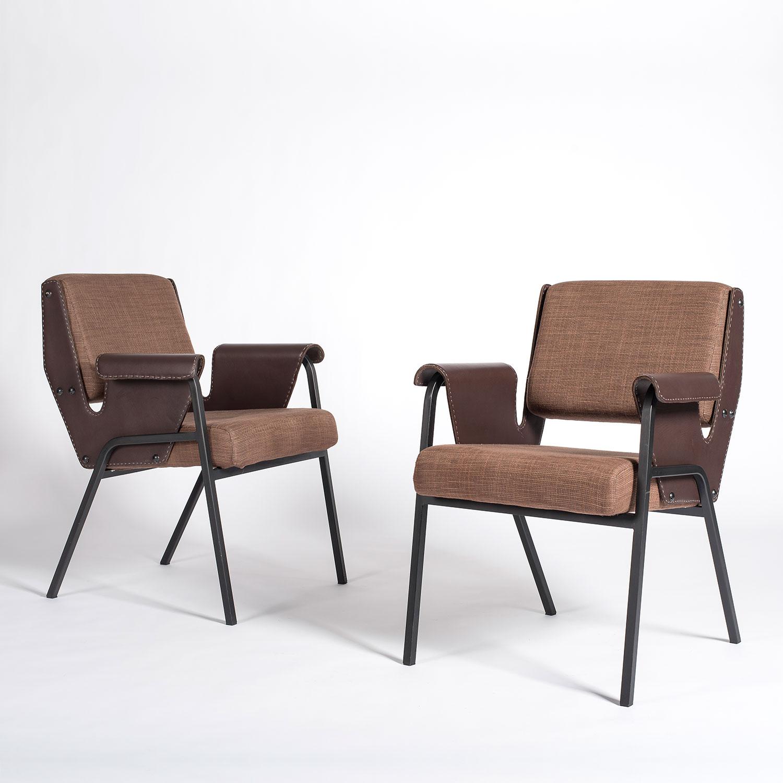 Gustavo Pulitzer |  Pair of Albenga armchairs