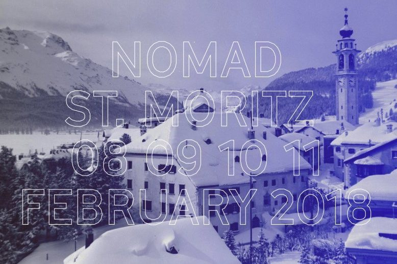 St Moritz Nomad exhibition on February 2018