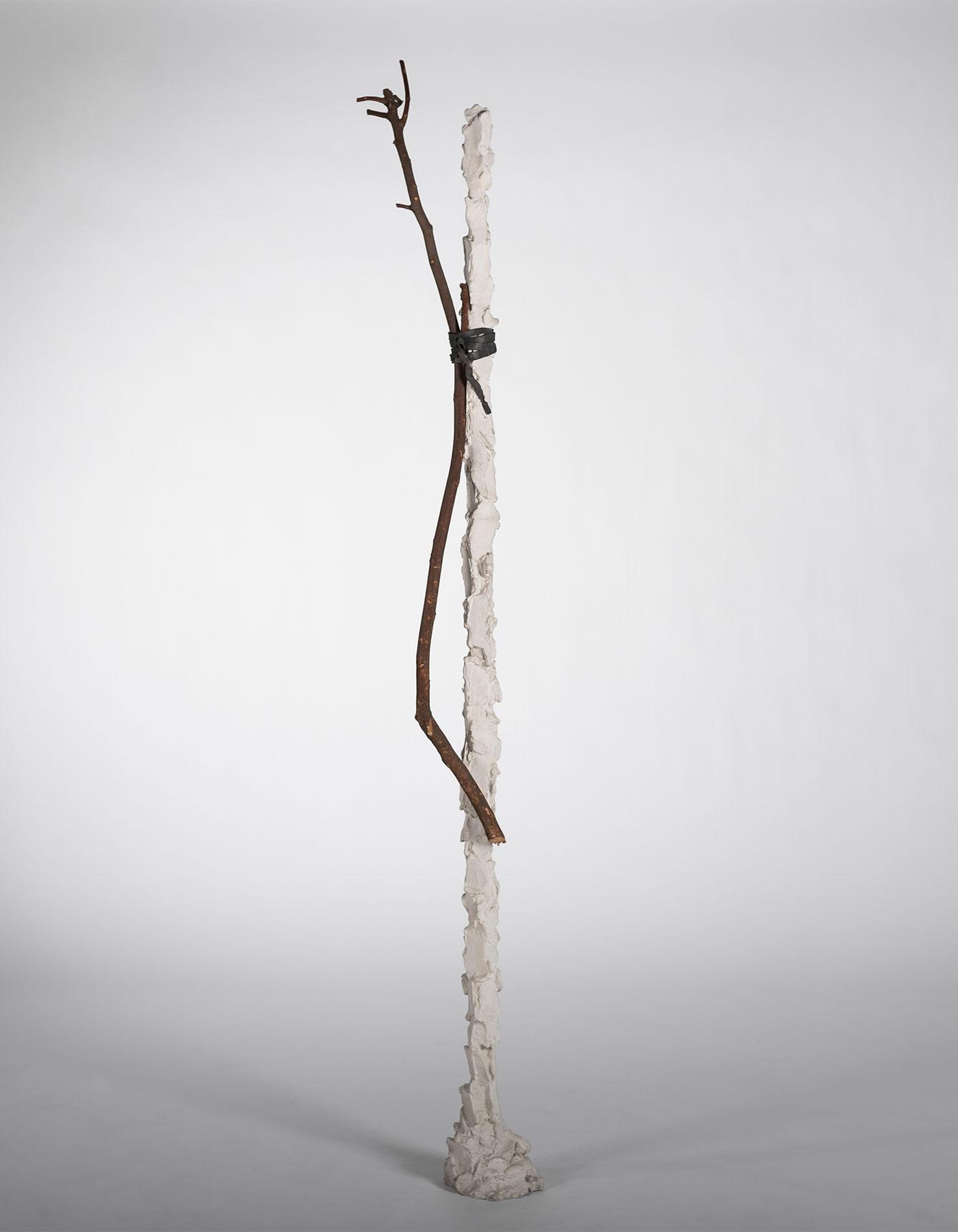 Paolo Icaro |  Innesto - Stele sculpture