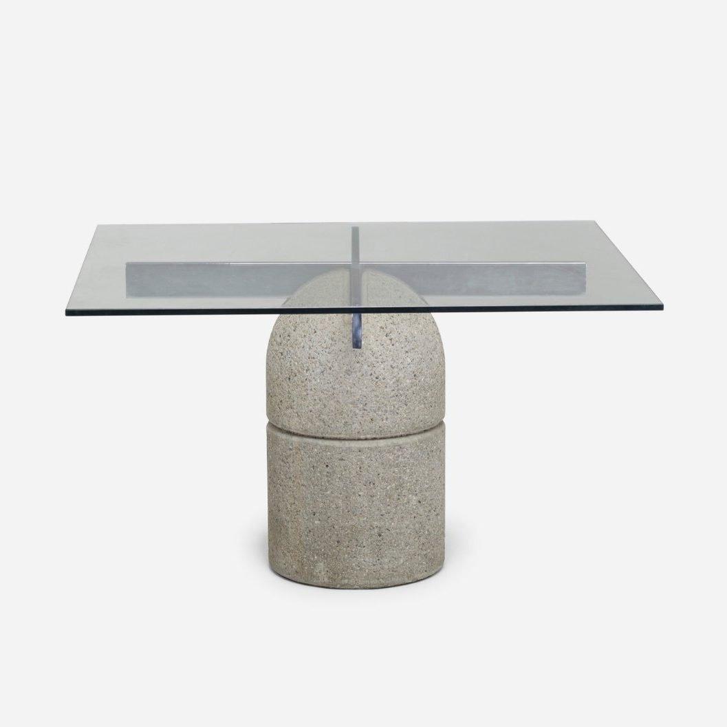 Saporiti Table by Italian designer Giovanni Offredi
