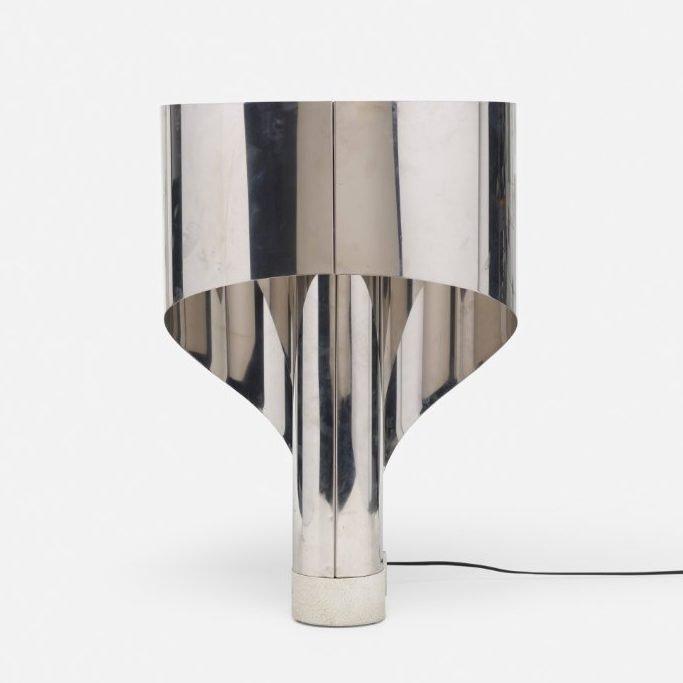 Crhome Stilnovo table lamp