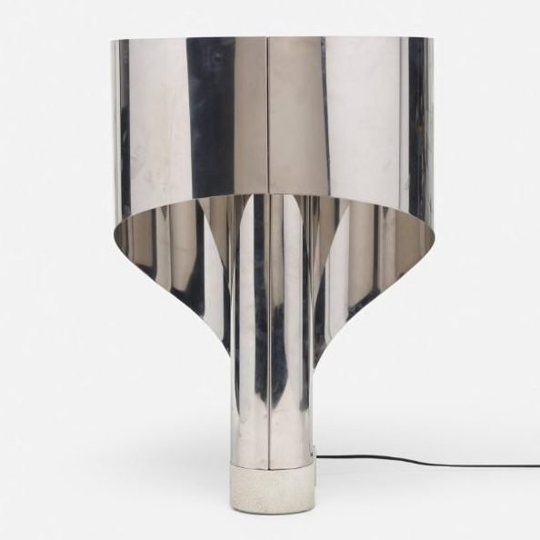 Crhome Stilnovo table lamp