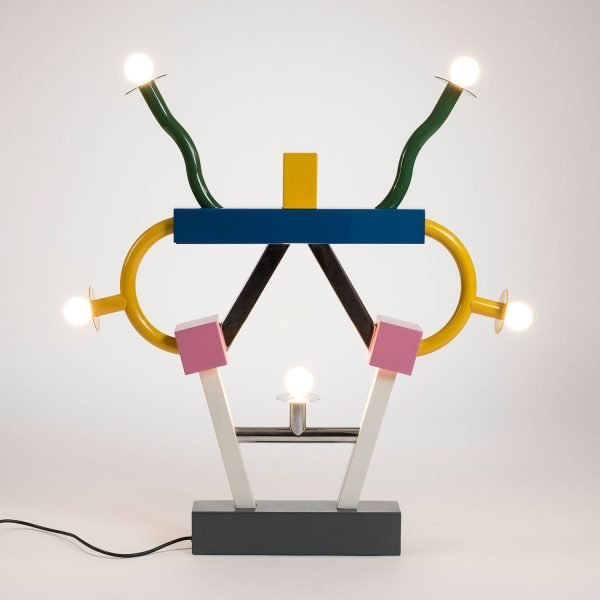 Ettore Sottsass  |                                  Ashoka table lamp