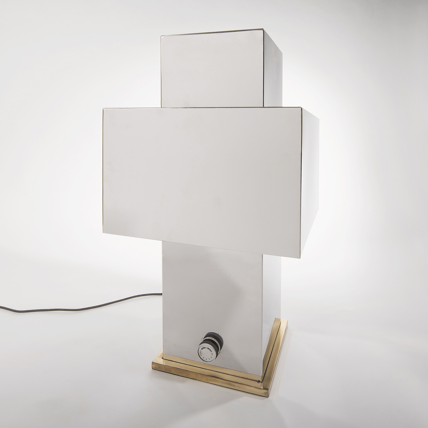 Willy Rizzo |                                  Love table lamp - square
