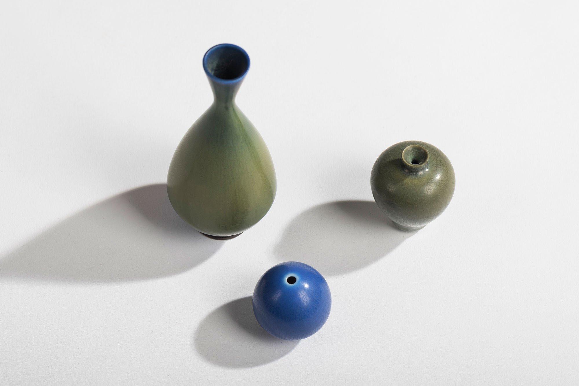 Berndt Friberg |   Miniature vases