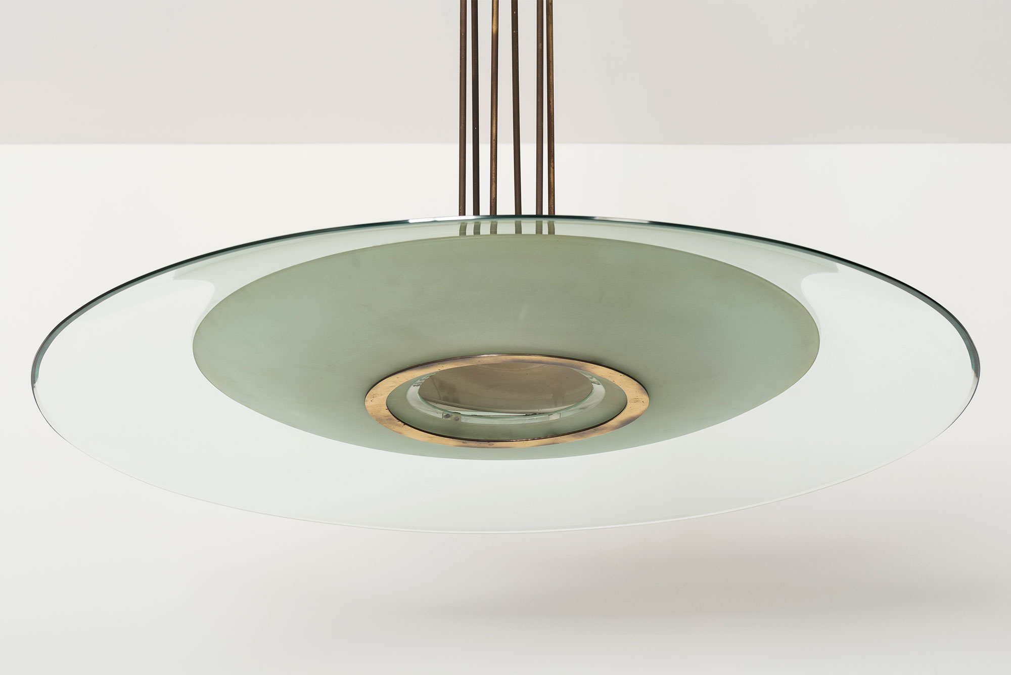 Fontana Arte |   Large chandelier model 1498