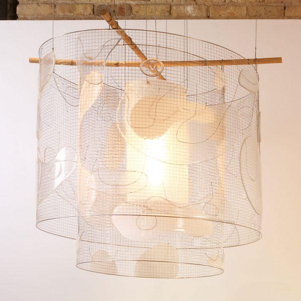 Andrea Branzi  |                                  Platone chandelier