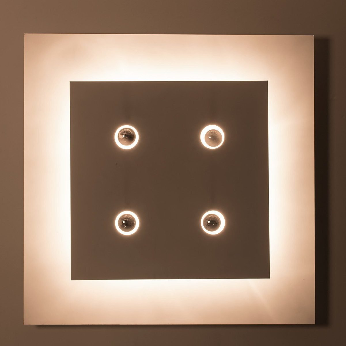 Gianfranco Fini and Fabrizio Cocchia |                                  Screen - wall light