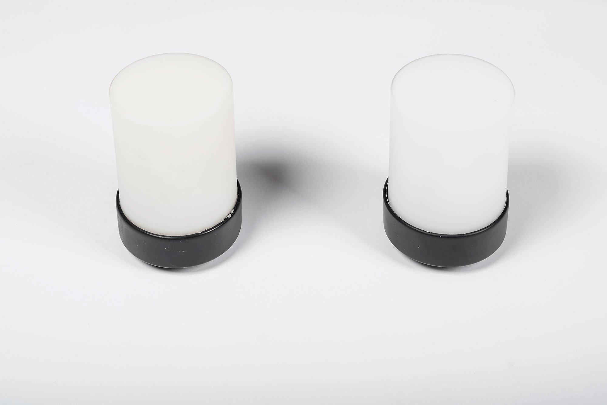 Gino Sarfatti  |  Pair of wall/ceiling lights, mod. 3031
