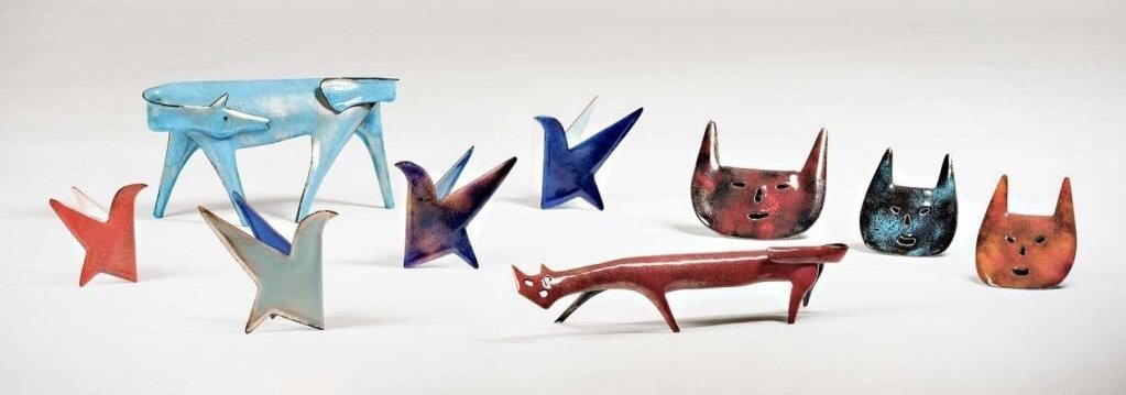 Animals designed by Gio Ponti and Paolo de Poli
