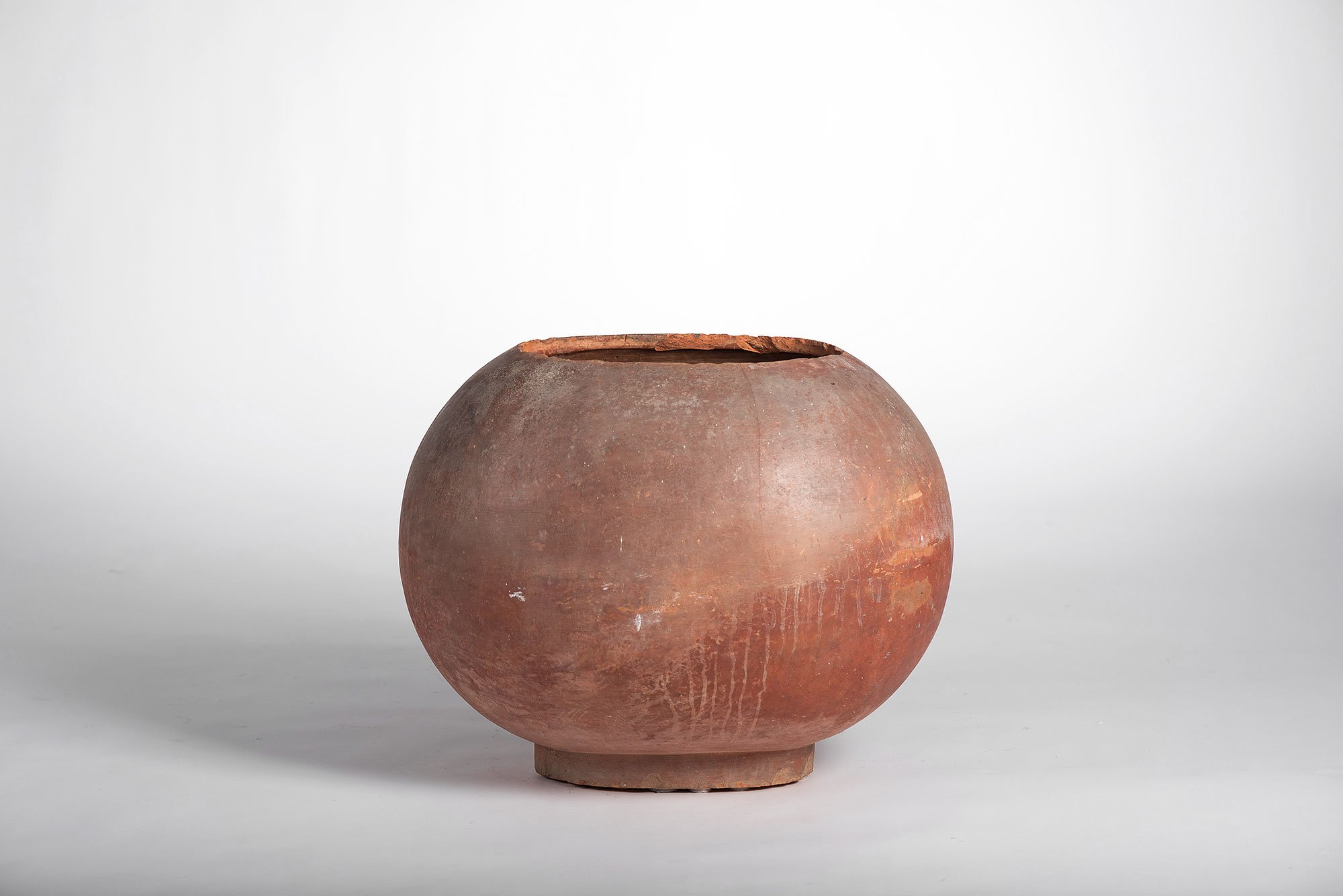Franco Albini |  Ceramic clay pot - Umbrella holder