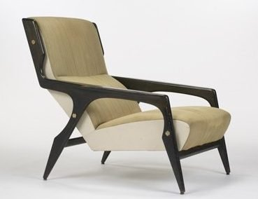 Gio Ponti armchair for the hotel Parco dei Principi in Rome