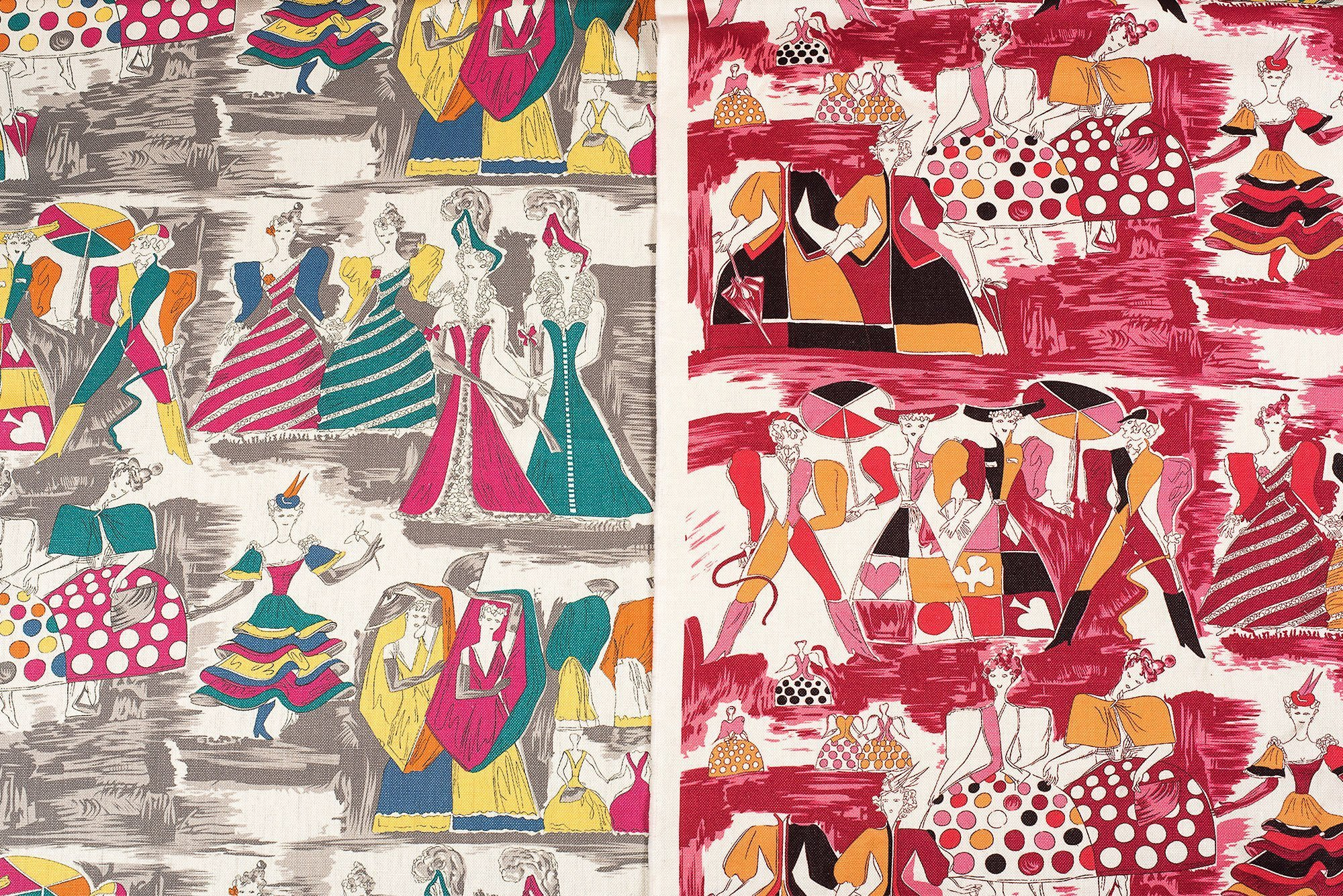 Gio Ponti |                              Balletto Alla Scala fabric