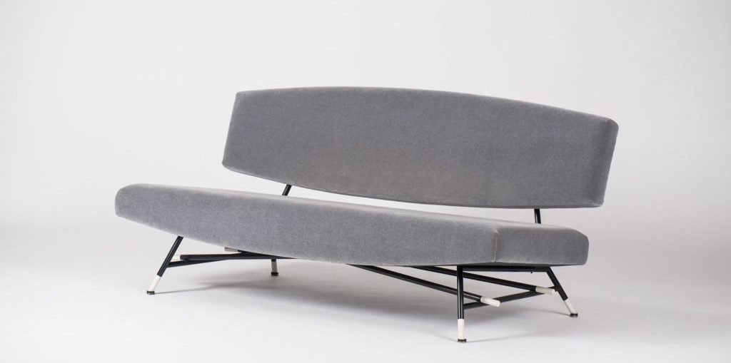 Loveseat model no. 865 by Ico Parisi