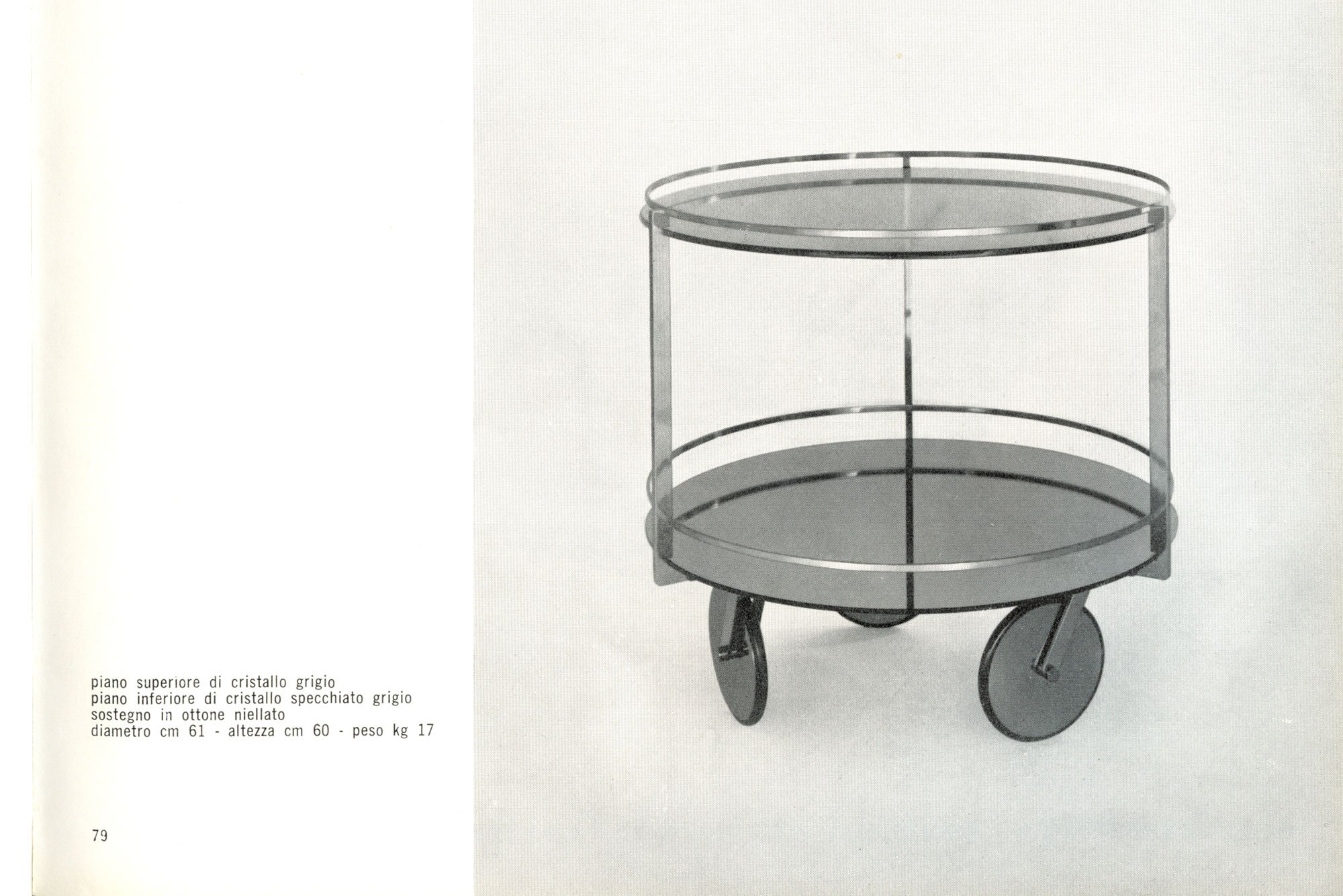 Max Ingrand |   Bar cart