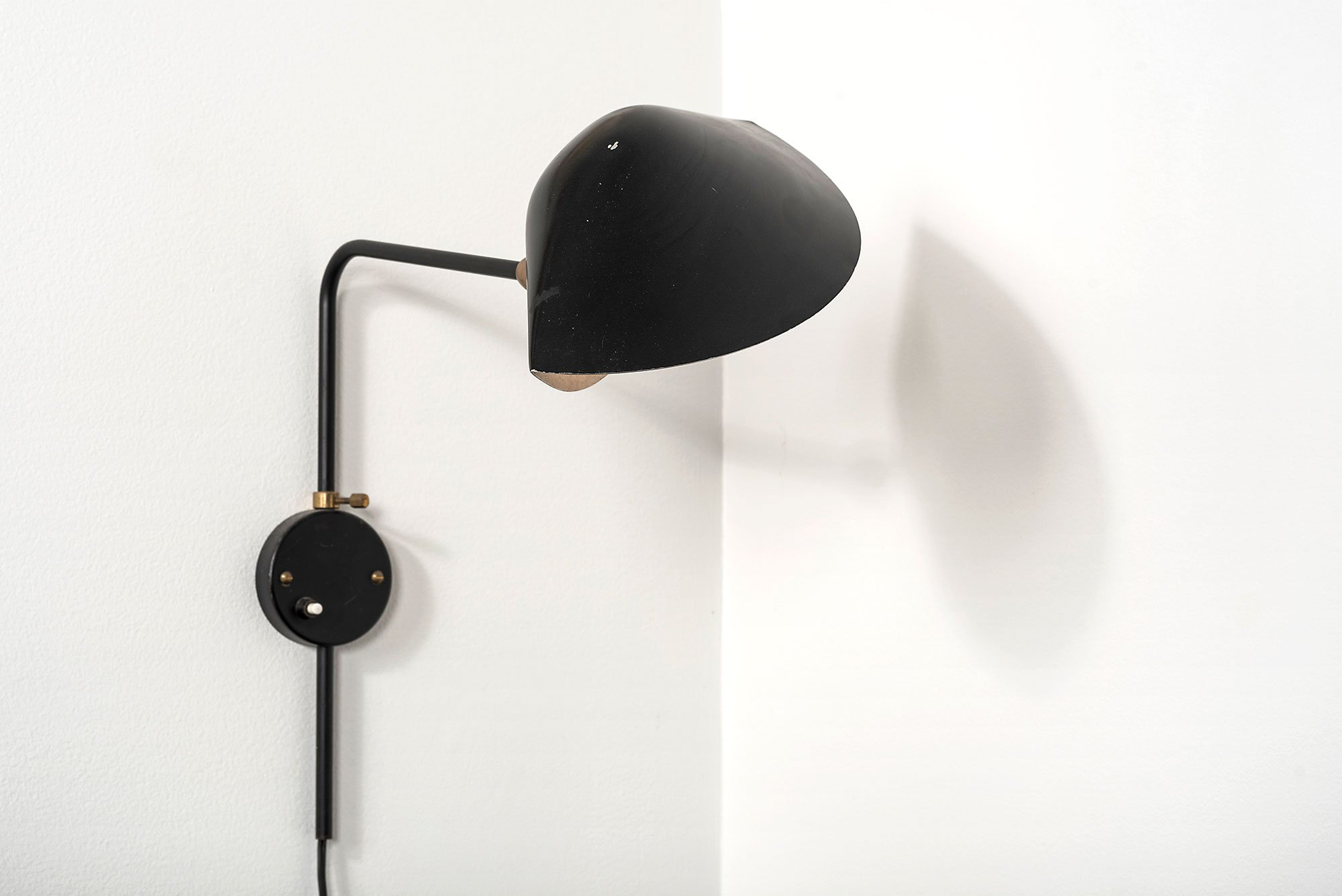 Serge Mouille  |   Wall light