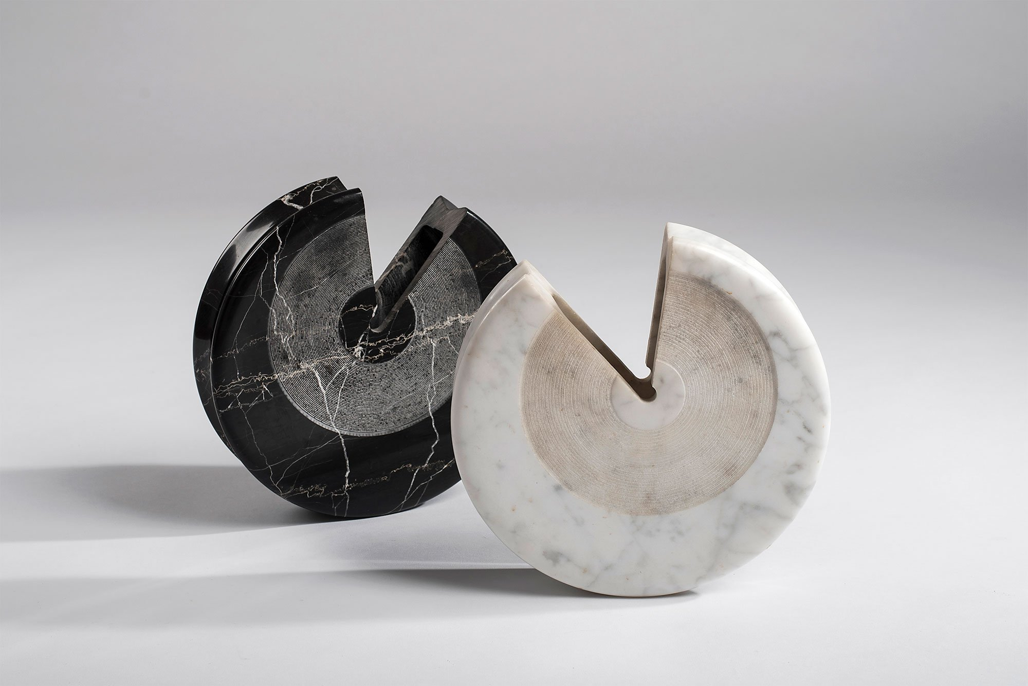 Sergio Asti  |  Black marble vase