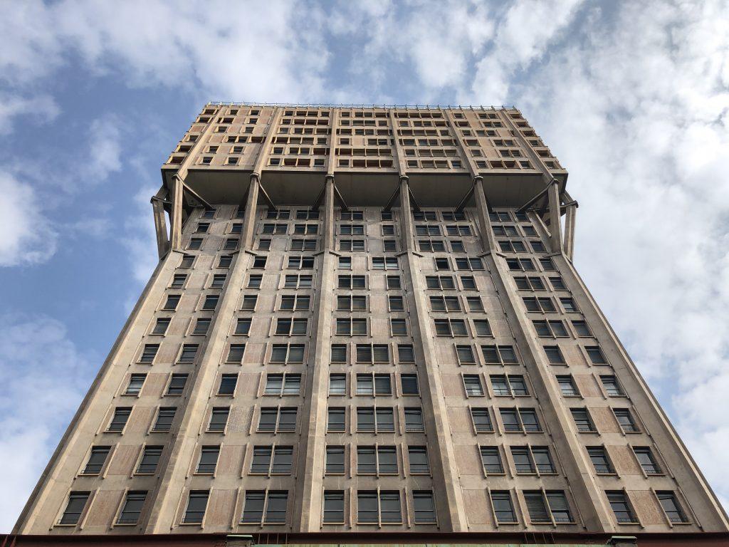Torre Velasca designed by BBPR Studio