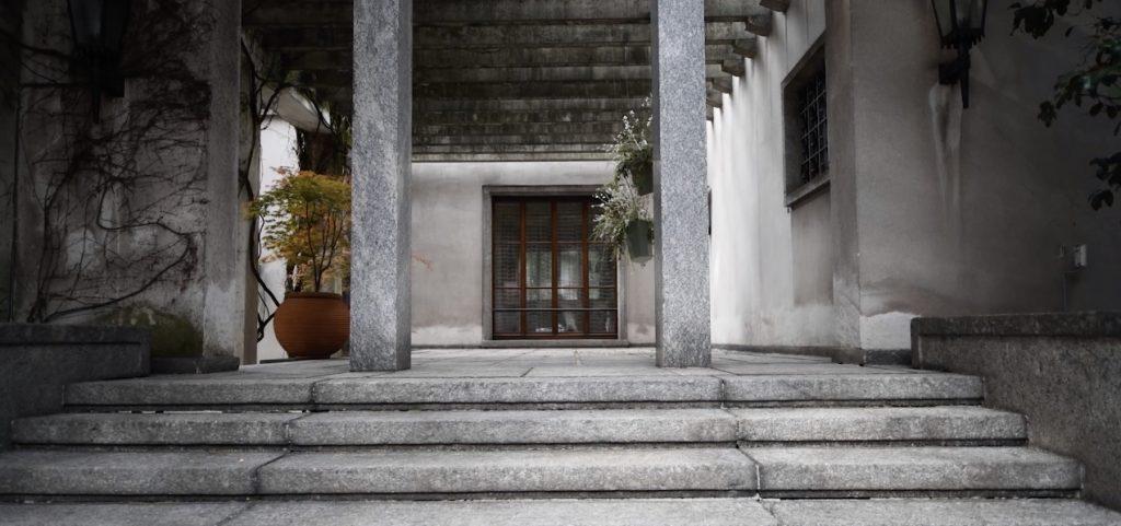 Villa Borsani designed by Osvaldo Borsani. Varedo, Italy