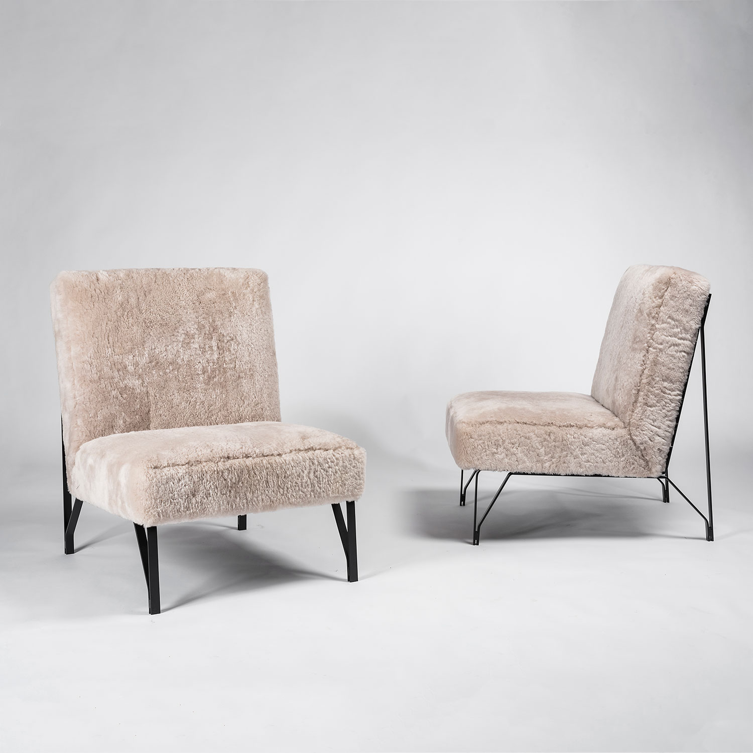 Eleanora Peduzzi-Riva |  Pair of chairs