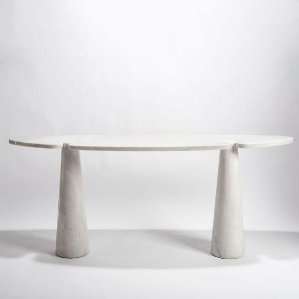 Angelo Mangiarotti |                                  Eros marble console