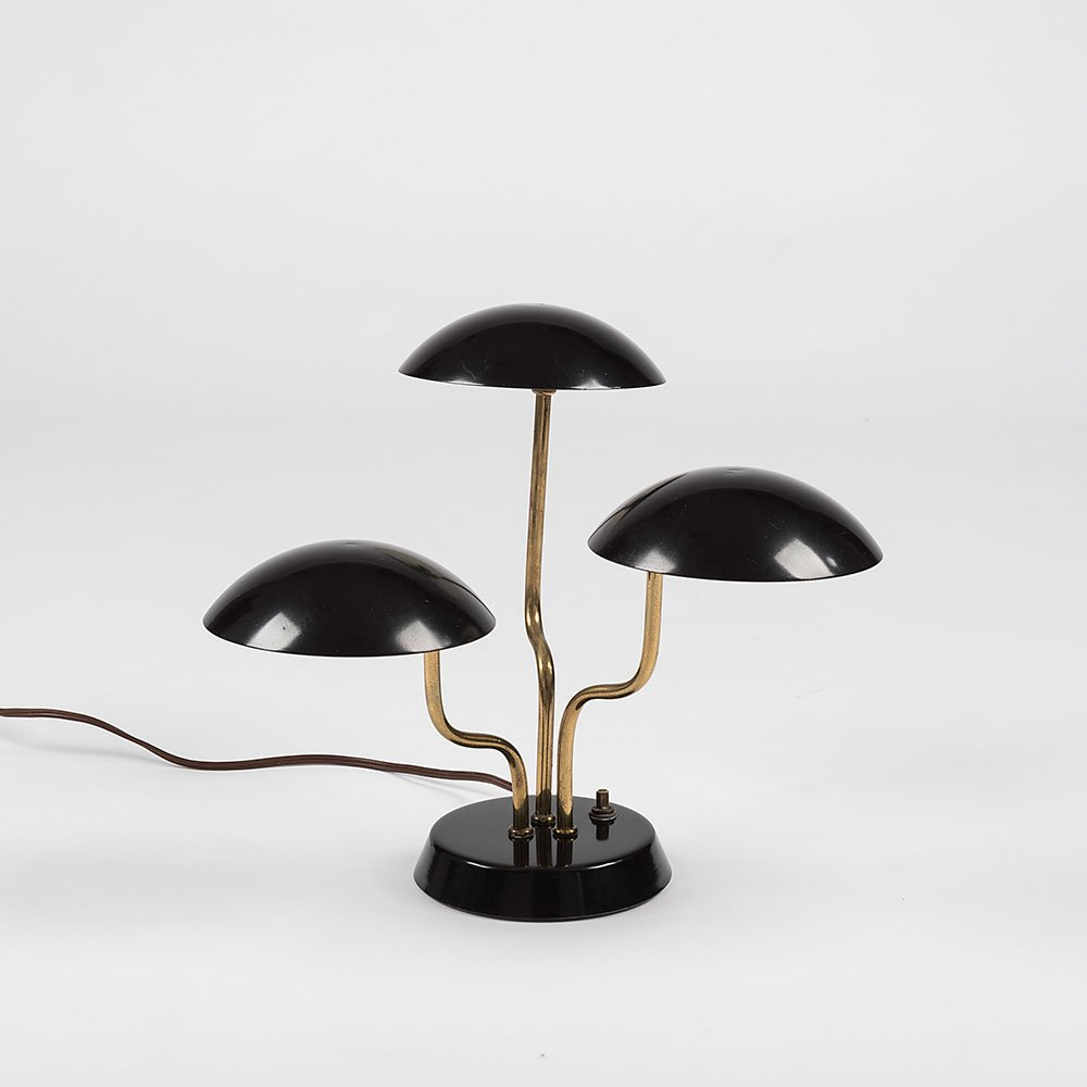Gerald Thurston |                                  Mushroom table lamp
