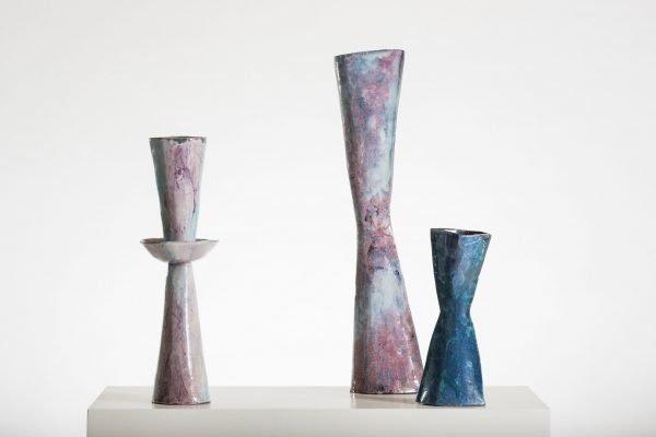 Ceramics by Italian artist Fausto Melotti at design and furniture gallery Casati Gallery
