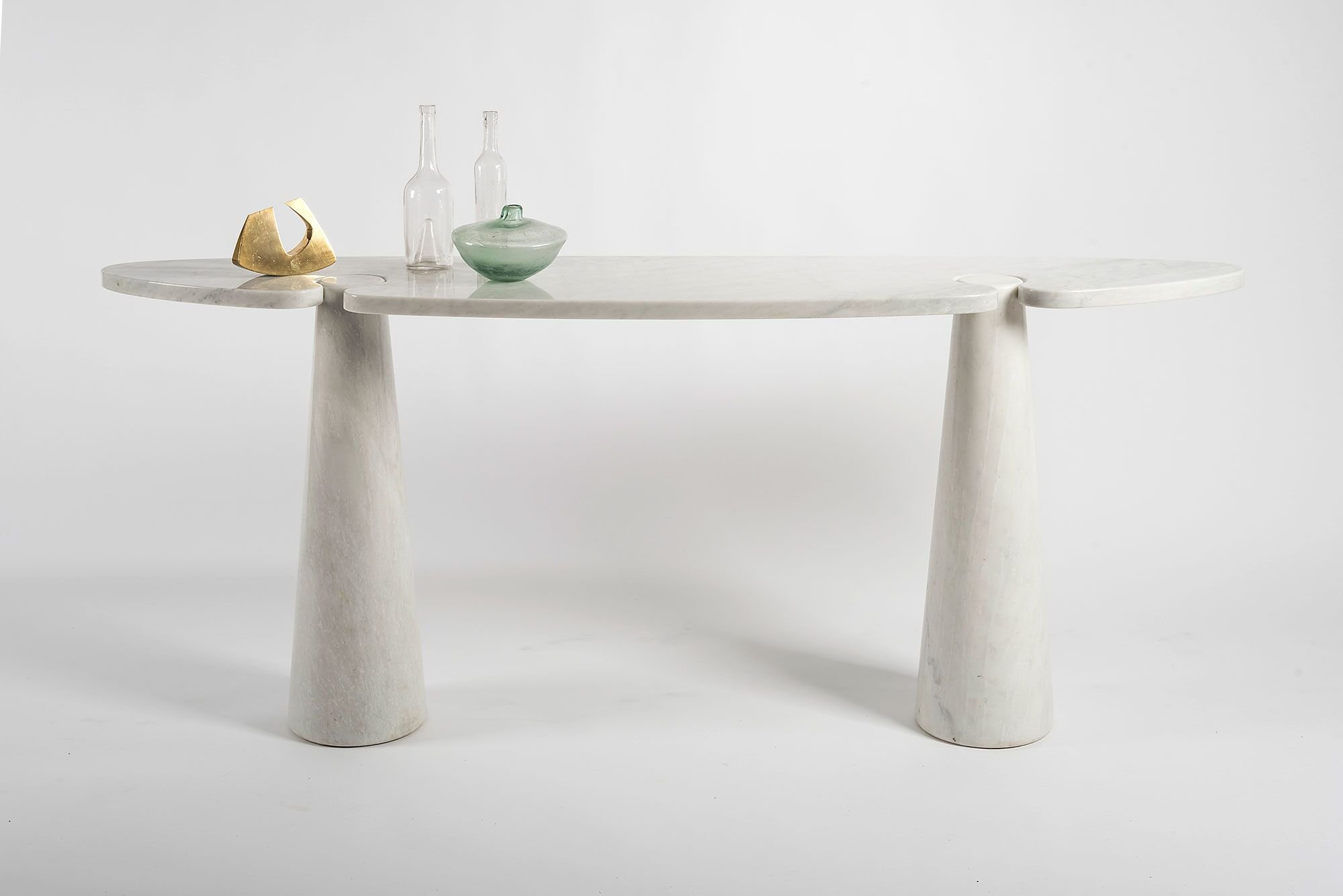 Angelo Mangiarotti |  Eros marble console