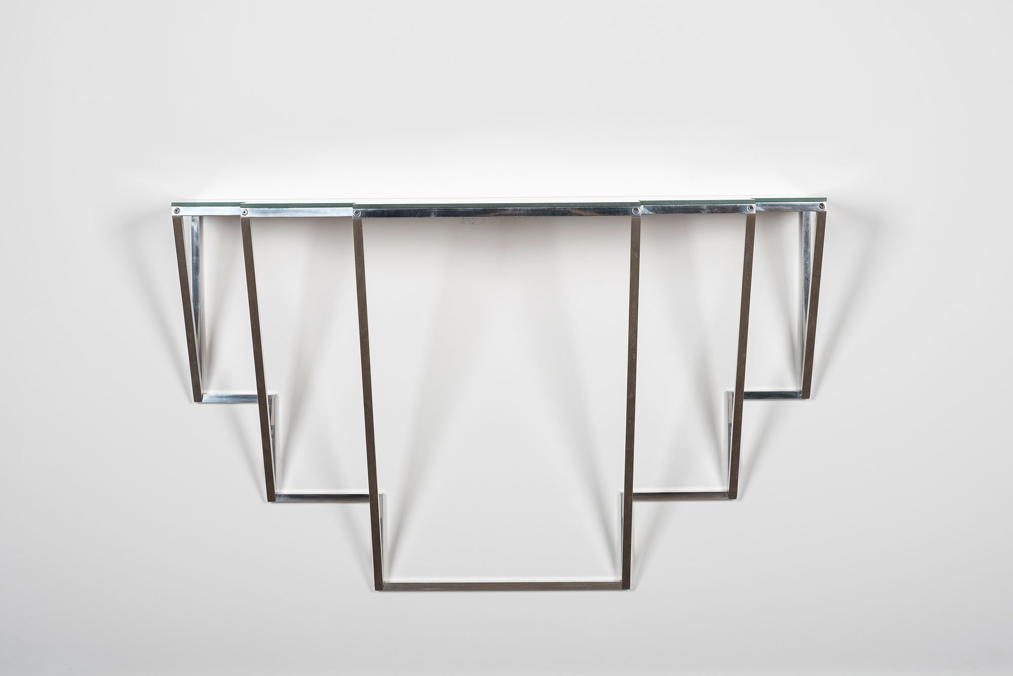 Jonathan Nesci |   Golden Variation - wall console