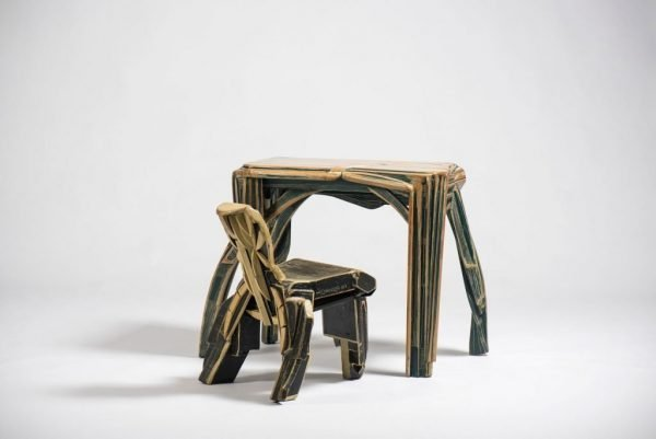 Mariano Cornejo Desk and Chair at design and furniture gallery Casati Gallery