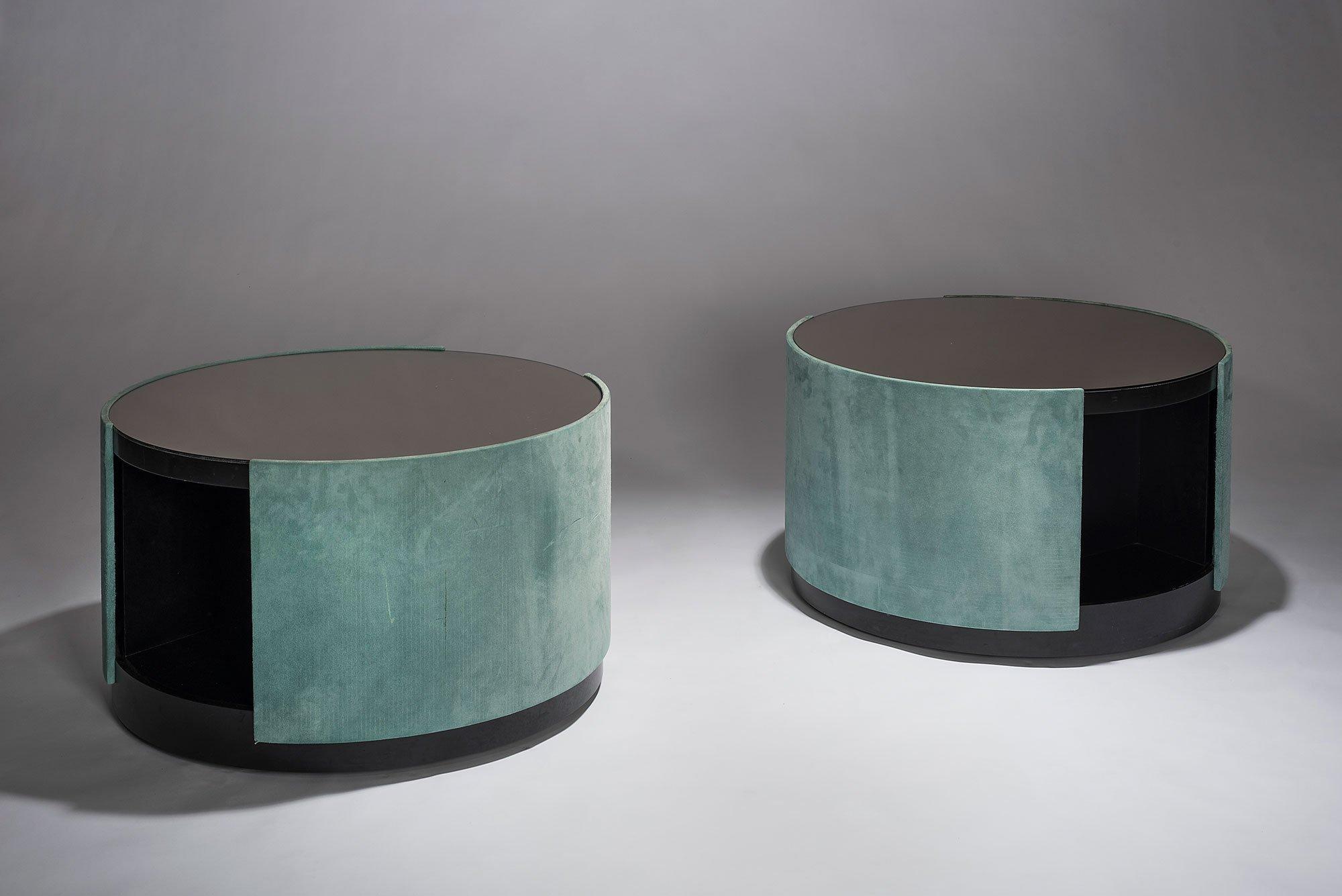 Osvaldo and Valeria Borsani  |   Pair of unique occasional tables