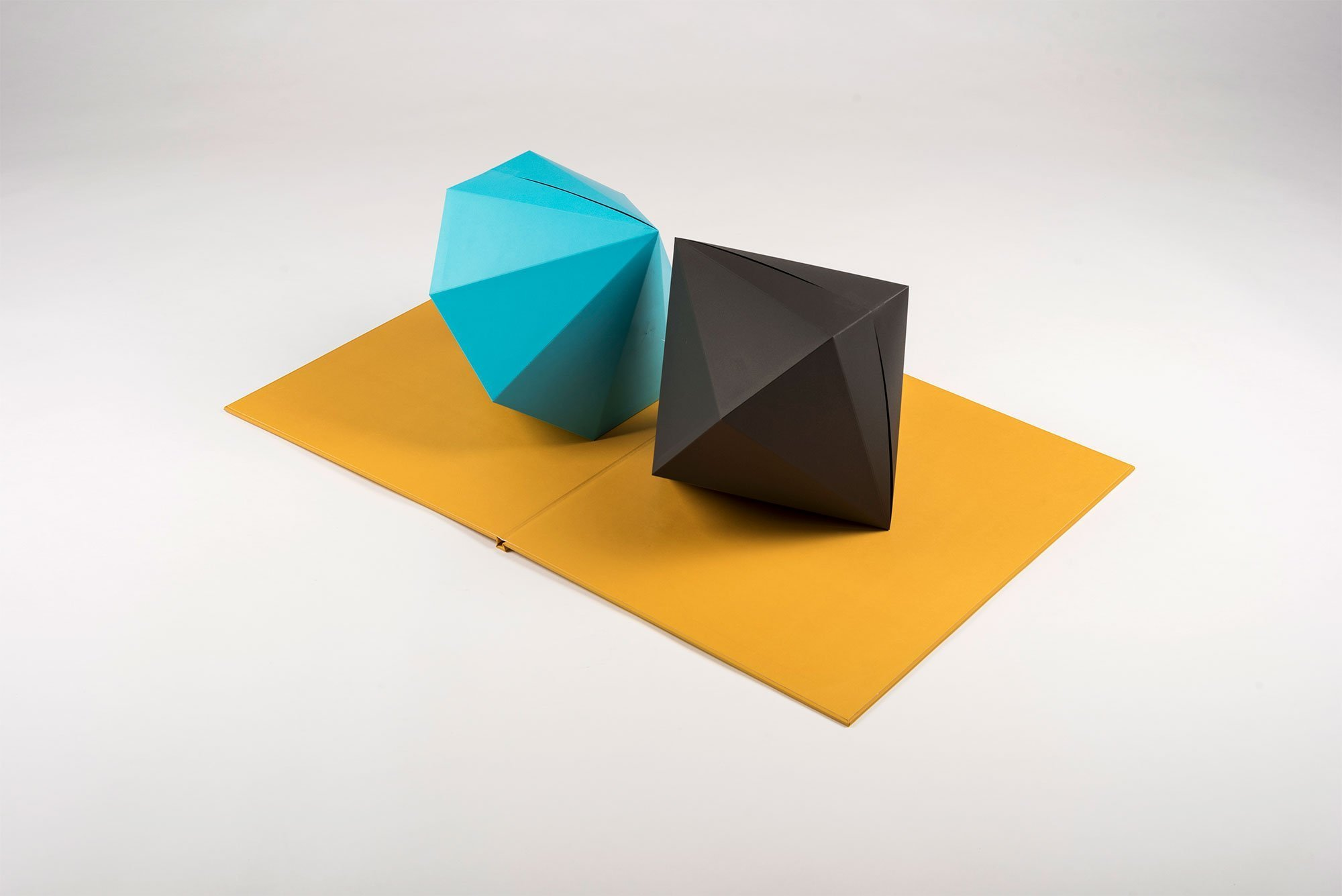 Tauba Auerbach  |                              [2,3] - Pop-up book