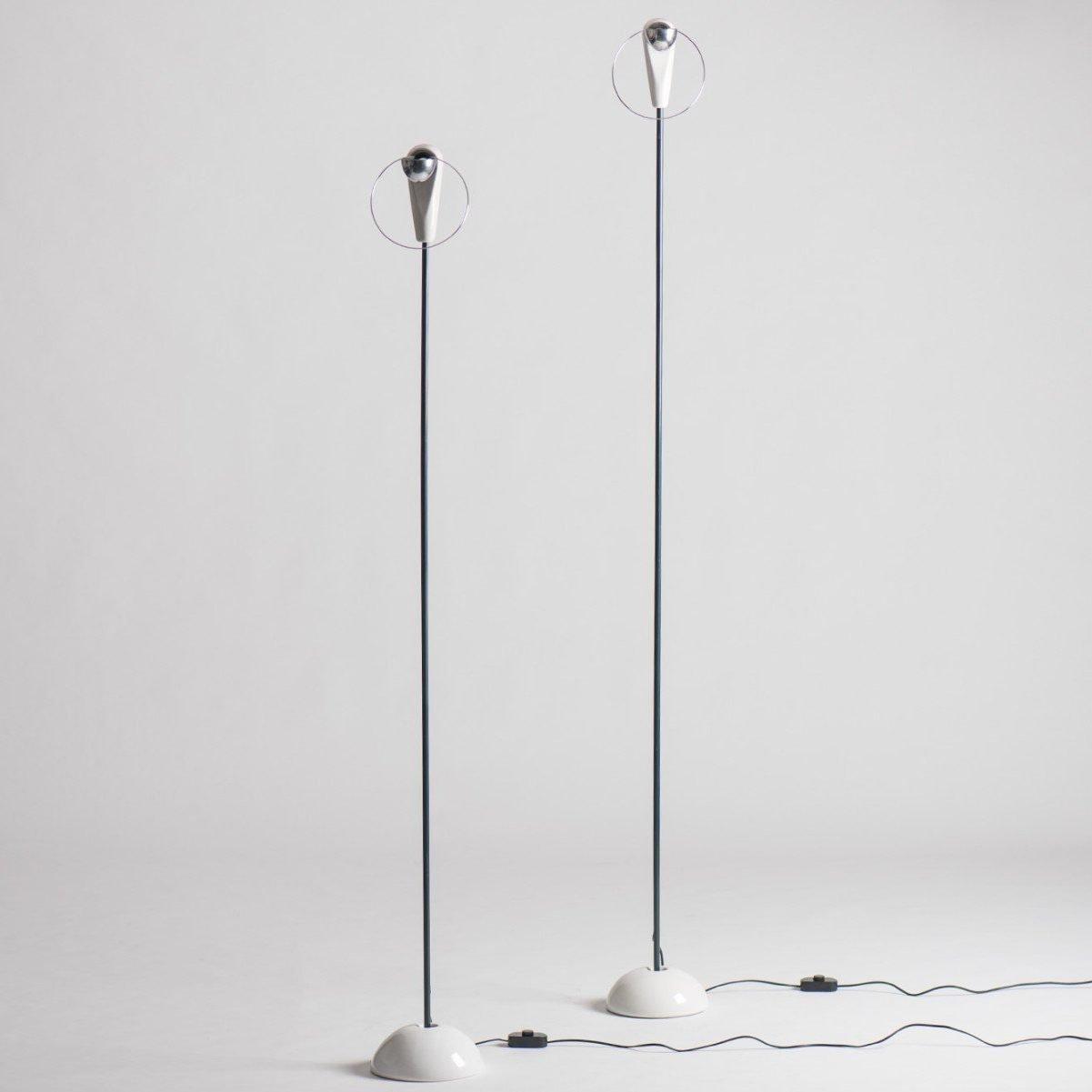 Achille Castiglioni |  Bi Bip - floor lamps
