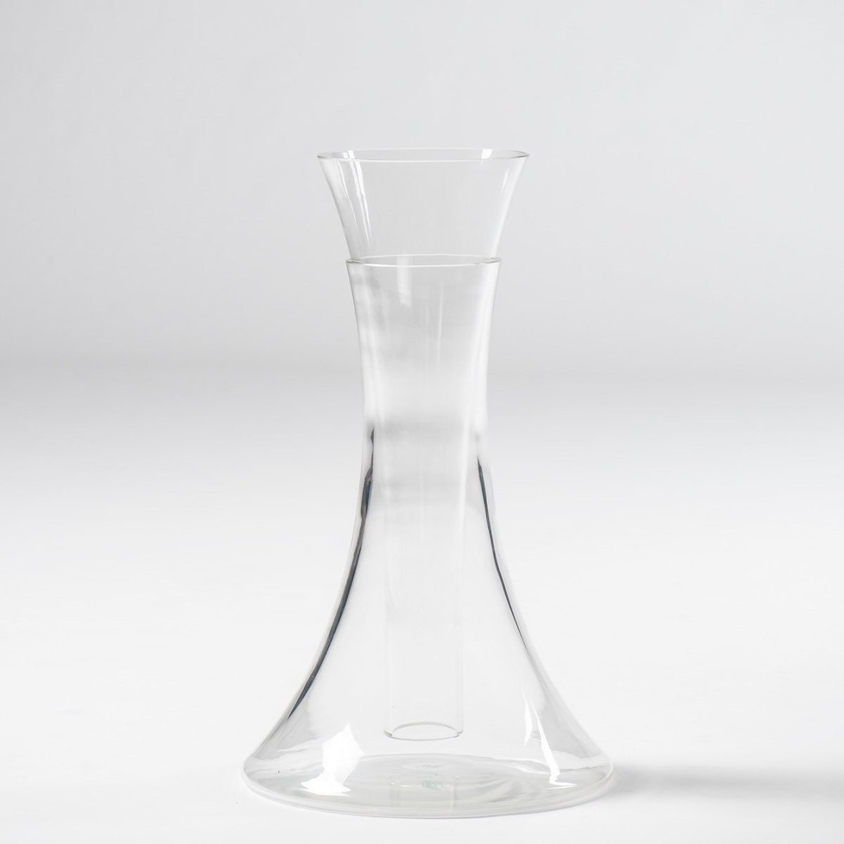 Angelo Mangiarotti |                                  Glass vase