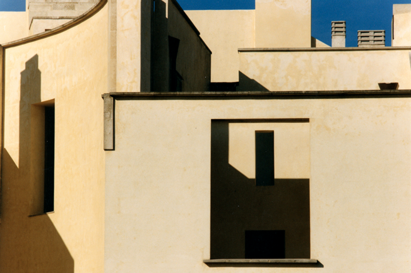 Detail of Casa Maggiano (1991-96) in Otranto Italy