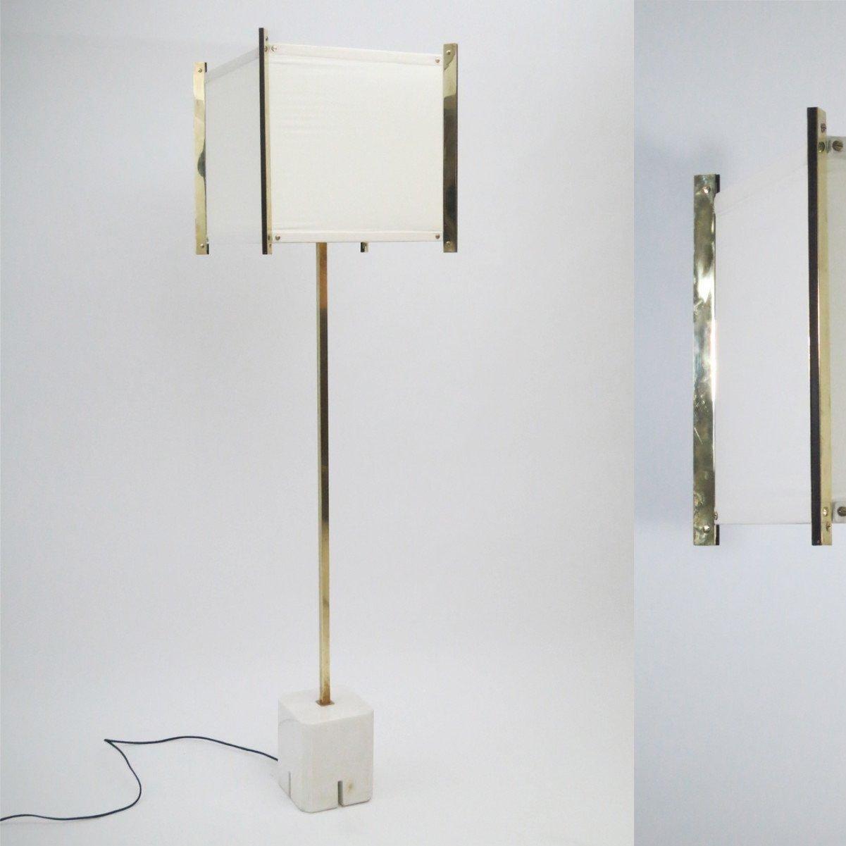 Ignazio Gardella |                                  Rare floor lamp, Lte 11