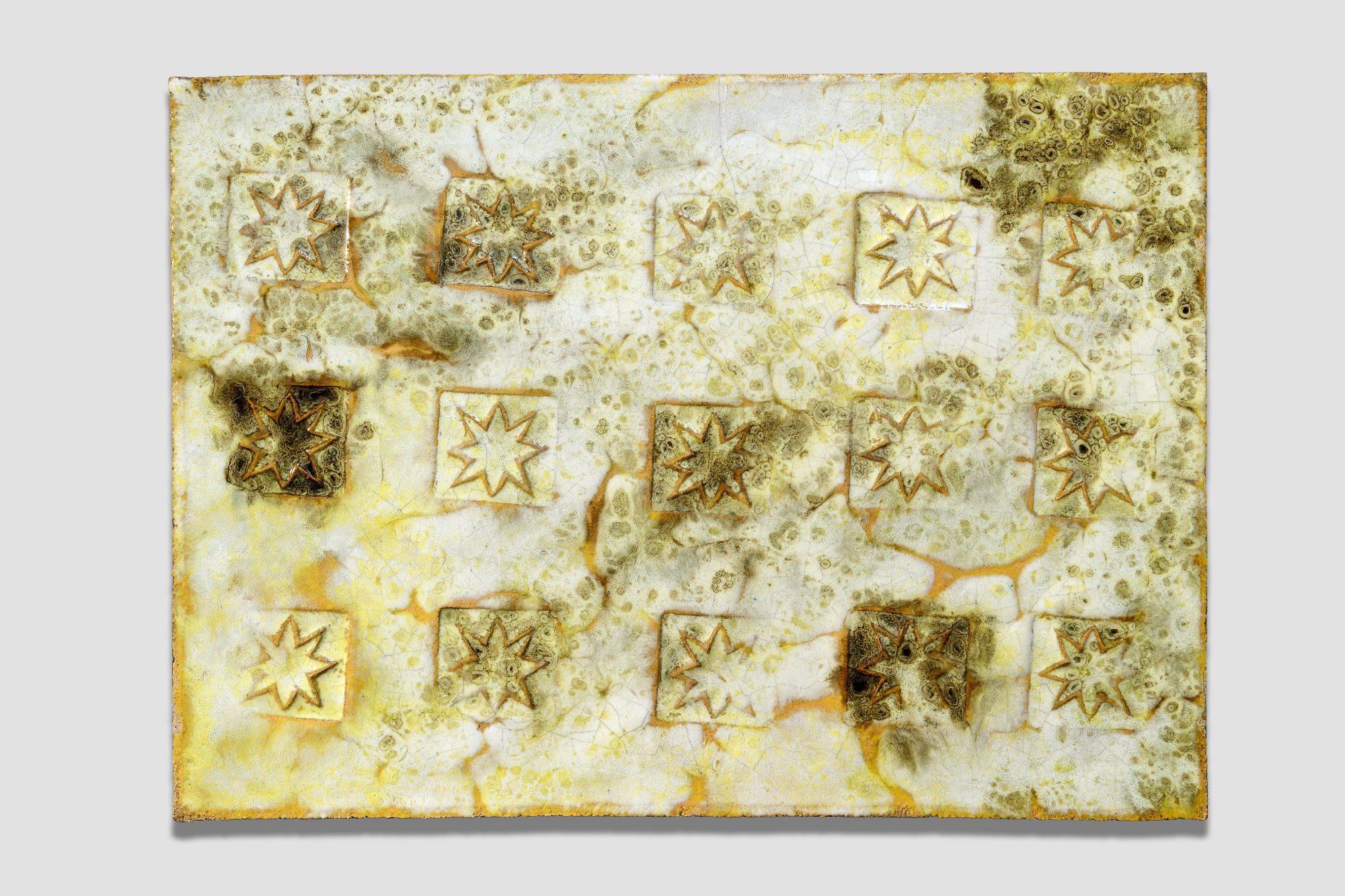 Fausto Melotti |   Bas relief panel - stars