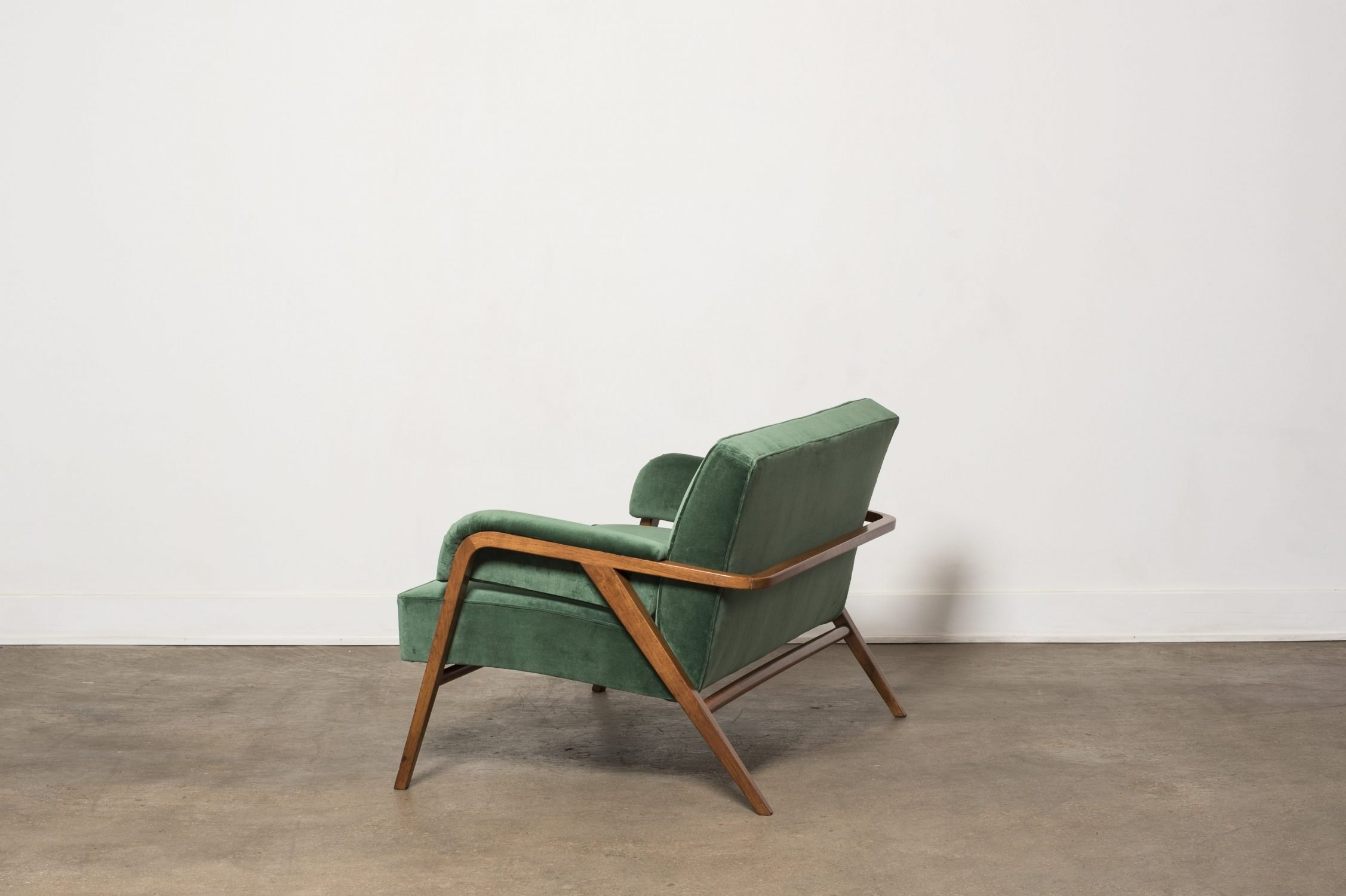 Franco Albini |  Loveseat for Casa Carati in Milan