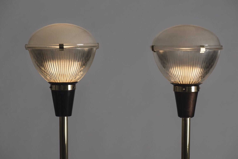 Ignazio Gardella floor lamps model Lte 7, Coppa Chiusa picture for the Gardella furniture collection page