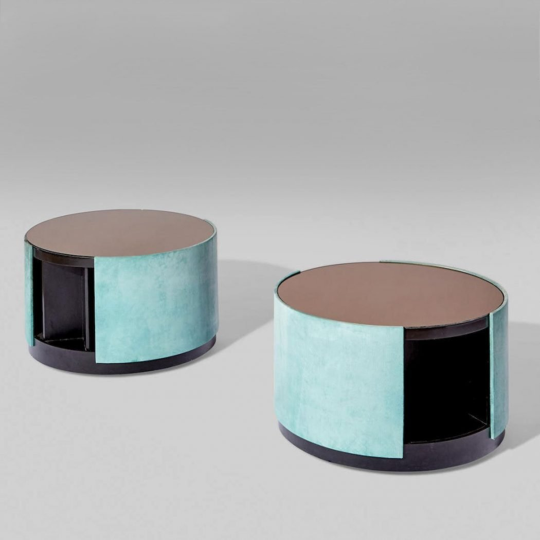 Osvaldo Borsani and Valeria Borsani  |  Pair of unique occasional tables