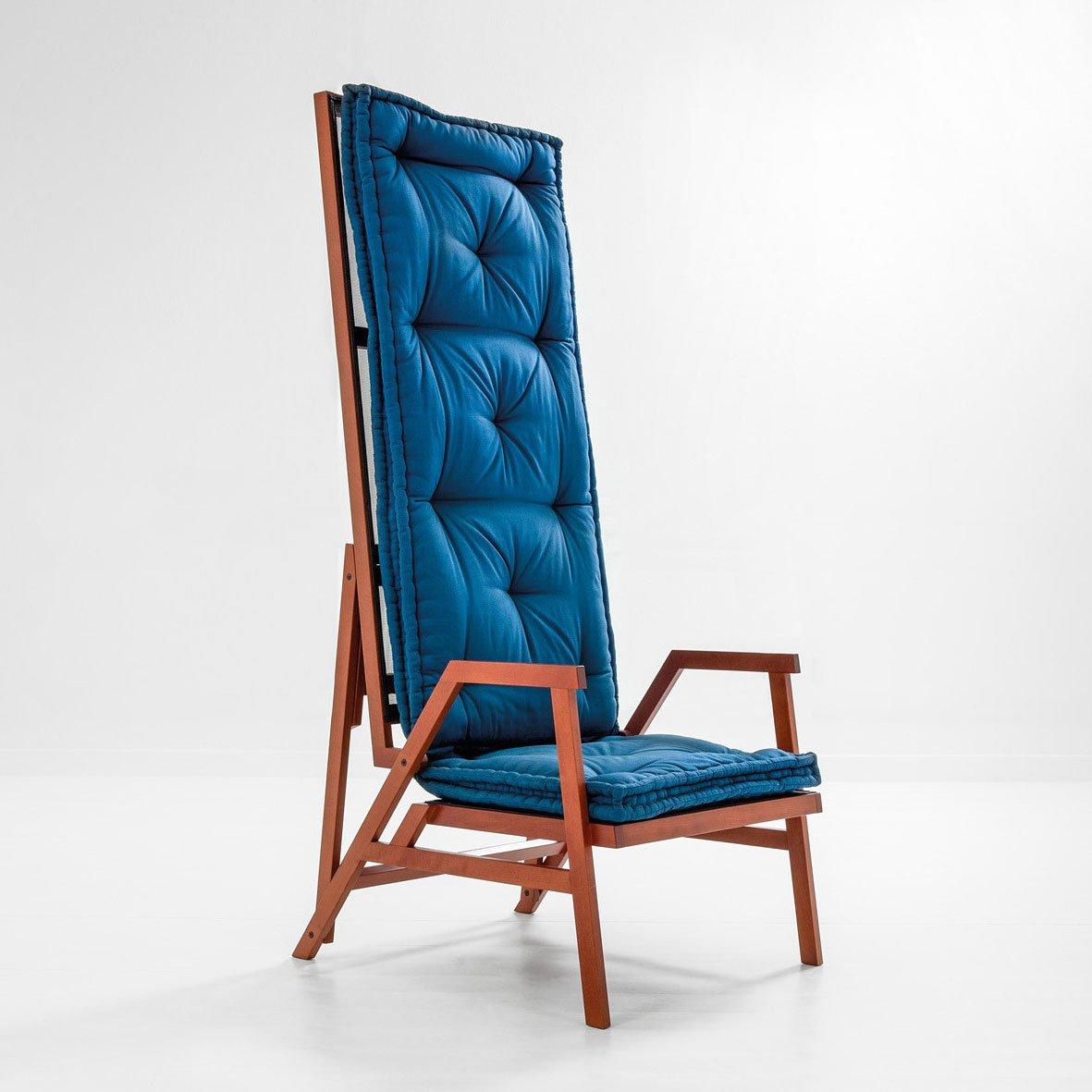 Achille Castiglioni  |  Armchair-bed mod. Polet