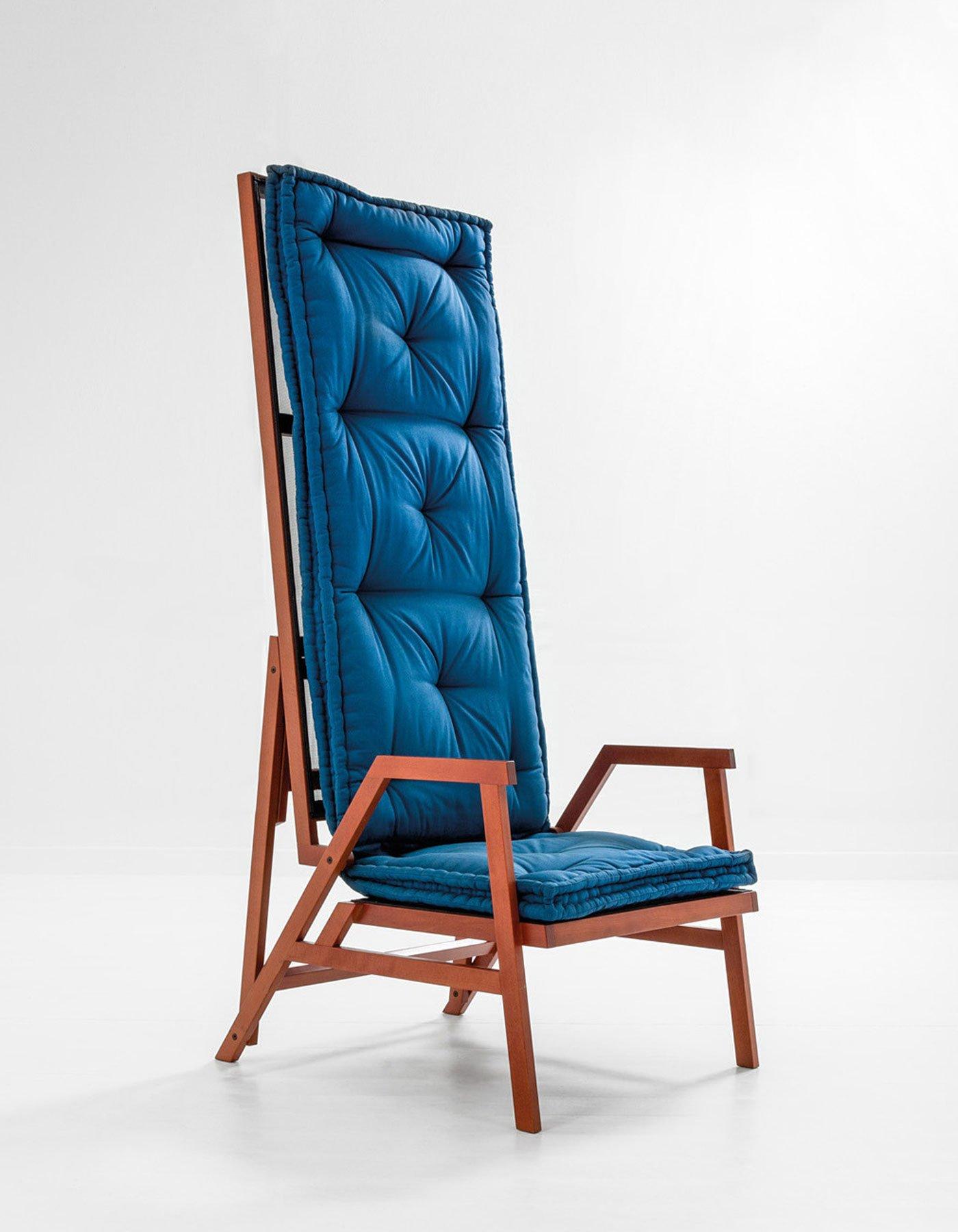 Achille Castiglioni  |  Armchair-bed model Polet