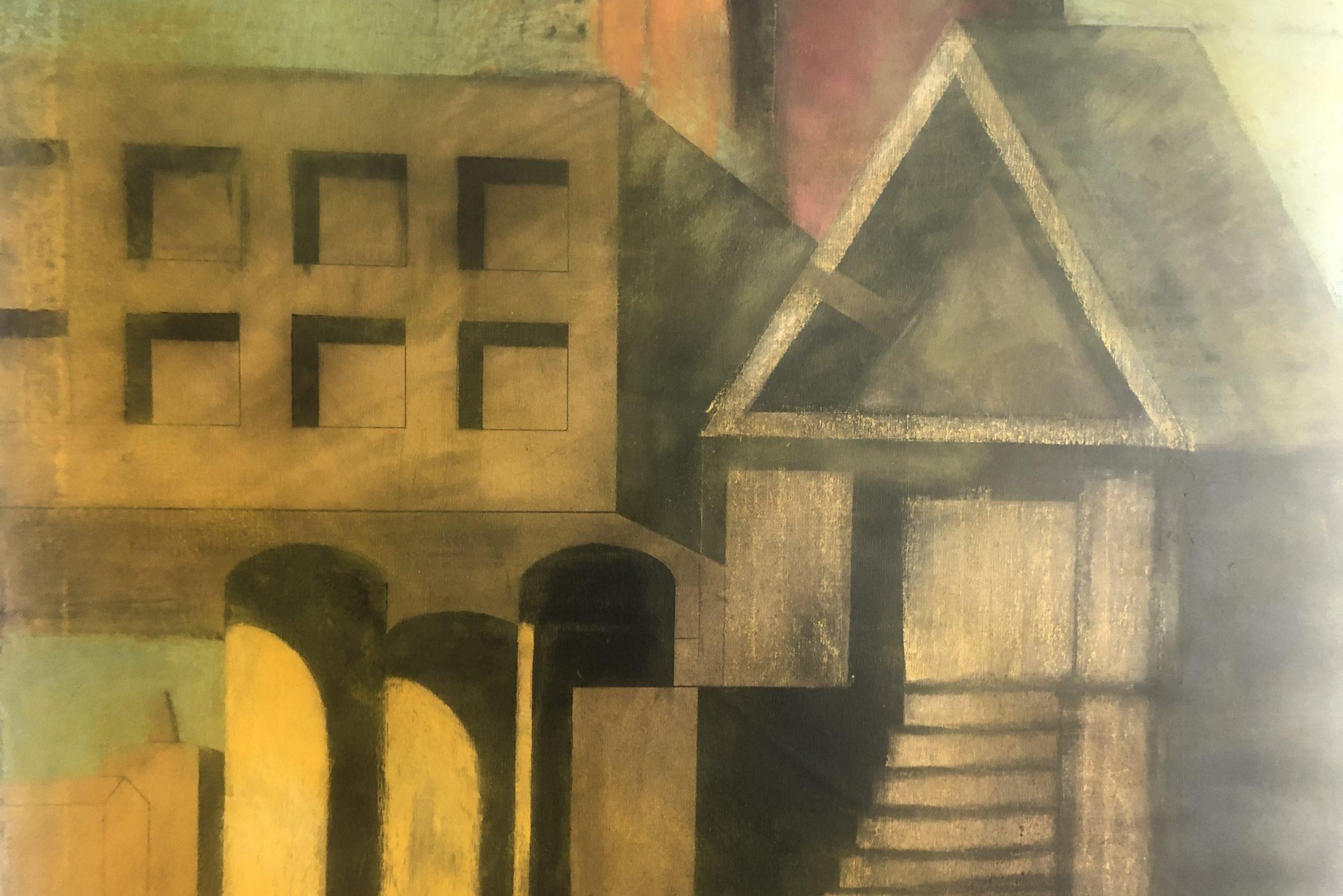 Aldo Rossi |                              Acrylic on Canvas
