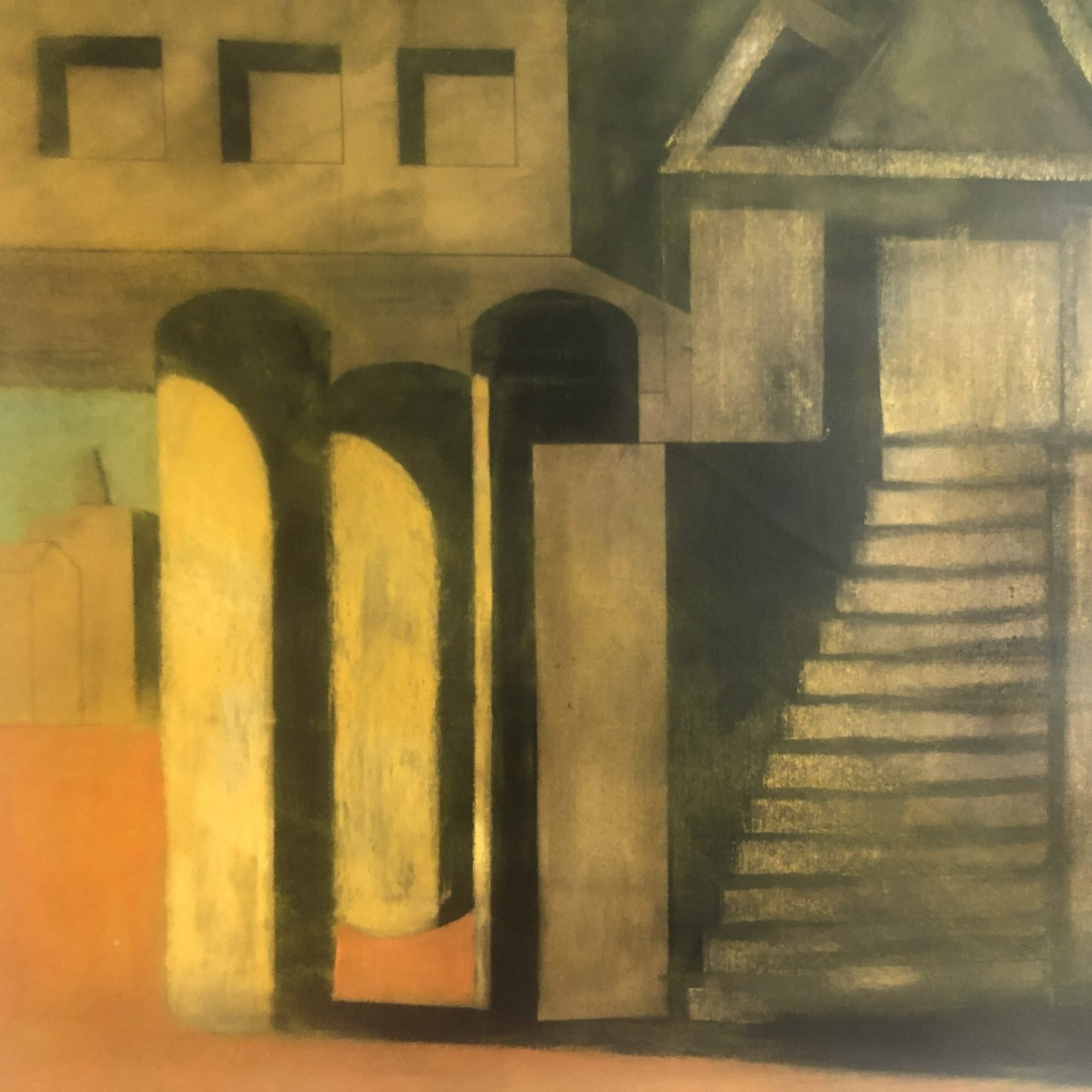 Aldo Rossi |                                  Acrylic on Canvas